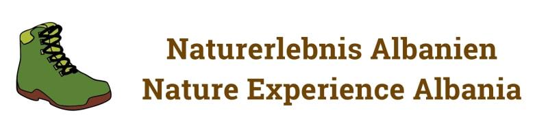 Logo Nature Experience Albania | Naturerlebnis Albanien